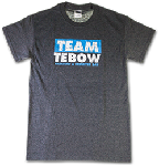 1. Team Tebow T-Shirt (Unisex Small)